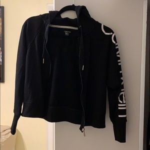 Calvin Klein performance zipper jacket XS